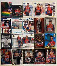 Jeff Gordon  NASCAR LOT OF 20 INSERTS PARALLELS NO DOUBLES!!!!!!!