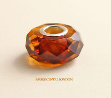 Amber Trolls Baltic Amber & 925 Silver Faceted Charm -CHA77 RRP£40!!!