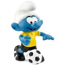 Schleich Smurfs Football Smurf with Ball 20806 NEW