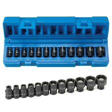 Grey Pneumatic 9712MG 1/4-inch Drive 12-Piece Metric Magnetic Impact Socket Set