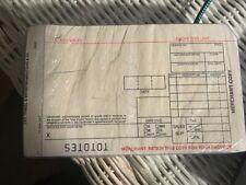 100 Short 2-part Credit Card Manual Imprinter Sales Slip (3D)