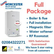 Worcester Bosch Greenstar 25i ERP Combi Boiler FREE INTALLATION (supply & fit)