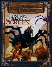 DUNGEON MASTER SCREEN EXC+! Dungeons Dragons D&D Master's Master Tri-Fold Guide