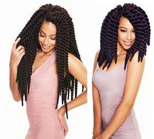 "SLEEK FASHION IDOL 101 MAMBO SATIN TWIST 12"" or 22"" Crochet Braid Hair Extension"