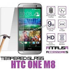 PELLICOLA VETRO TEMPERATO PER HTC ONE M8 TEMPERED GLASS PROTEGGI SALVA SCHERMO