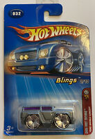 2005 Hotwheels Blings Ford Bronco Concept Grey Very Rare! Mint!
