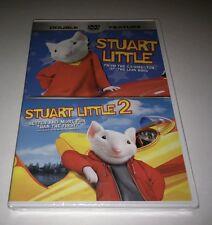 """Stuart Little/Stuart Little 2 (DVD, 2002) GEENA DAVIS HUGH LAURIE """"NEW"""""""