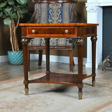 NSI206, Niagara Furniture, Square Mahogany End Table, End Table