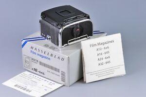 [ Mint+ ] Hasselblad A16 Film back Magazine, 120 film 6X4.5 (Chr), latest model