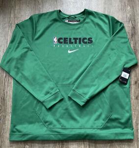 Nike Mens NBA Boston Celtics Shooting Shirt Green Sz 3XLT AV1378-312