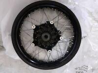 BMW r nine t wire spoke wheel black