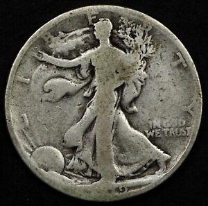 SCARCE DATE CIRCULATED 1919 WALKING LIBERTY HALF DOLLAR. SELLING ENTIRE SET!