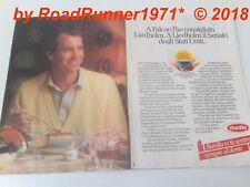 PAULO ROBERTO FALCAO_ROMA_Obrigado BARILLA_pubblicità  del 1984_advertising