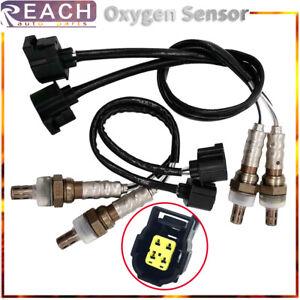 4pcs Oxygen O2 Sensor Upstream & Downstream For 2002-2012 Jeep Liberty 2.4L 3.7L