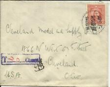 China Sc#301(single frank) SHANGHAI 9/11/36 POSTAGE DUE to USA