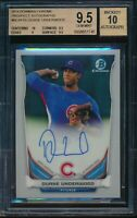 2014 Bowman Chrome Duane Underwood Auto BGS 9.5 Gem Mint Autograph