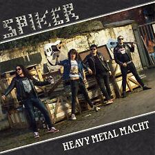 Spiker - Heavy Metal Macht WEIß MLP + PATCH Hard Rock Amiga Formel 1 DDR Metal
