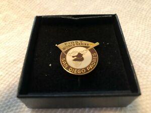 1984 SAN DIEGO PADRES WORLD SERIES PRESS PIN ORIGINAL