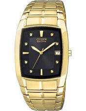 Citizen BM6552-52E Eco-Drive Mens Solar Watch GOLD RRP $450.00