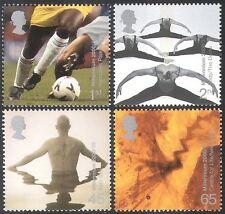 GB 2000 Millennium/Football/Dance/Sport/Games/Swimming/Egg 4v set (n22486)