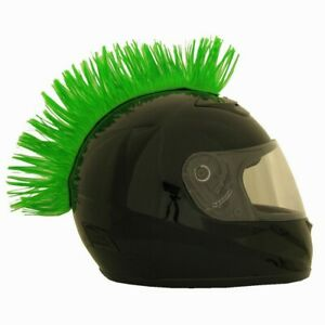 crete adhesive velcroc pour casque de moto VERT VERTE