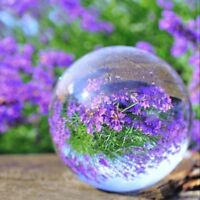 LONGWIN Crystal Ball Magic Glass Ball for Photography Home Decor 50mm Gift