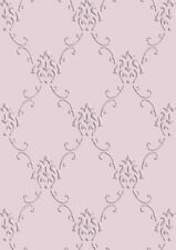 Lace Victorian Pattern Stencil French Vintage Wedding Paint Card making TE187