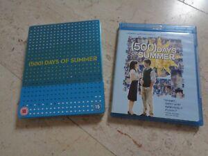 (500) DAYS OF SUMMER *rare*STEEL Bluray + Futurepak NovoBox Joseph Gordon-Levitt