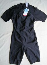 "SPEEDO NYLON FEMALE BLACK ""SPLASH"" MODESTY KNEESUIT NEW WITH TAGS UK GIRL 30"""