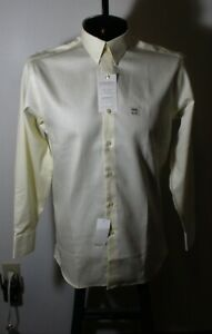 "Men's CONCEPTS Beige Yellow ""Modern Fit""  Dress Shirt Size 15.5/32-33 NWT"