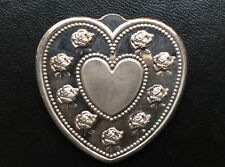 Especially For You Heart Shaped Silver Art Medal P2656