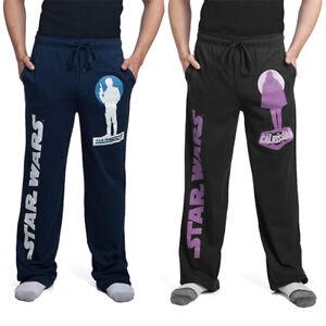 Mens Cotton Joggers :Star Wars Han Solo Movie Lounge Pants : Size Large - Purple