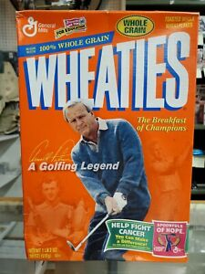 Wheaties Whole Grain Arnold Palmer Golfing Legend Cereal Box Brand New Sealed