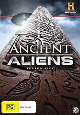 Ancient Aliens : Season 5 (DVD, 2014, 3-Disc Set) - Region 4
