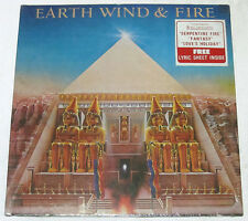 Philippines EARTH, WIND AND FIRE All 'N All LP Record