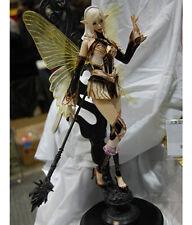 Elf mage girl lineage 2 rare wonderfest unpainted statue figure model resin kit