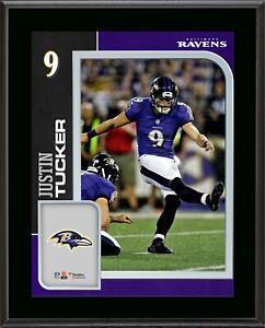 Justin Tucker Ravens 10.5x13 Player Plaque - Fanatics