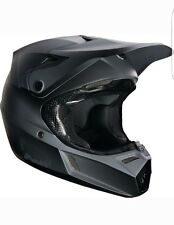 FOX RACING Youth V3 Matte black Helmet-Motocycle Dirtbike Off Road Size M