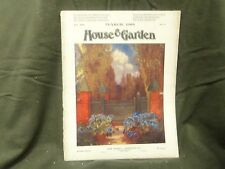 1908 MARCH THE HOUSE & GARDEN MAGAZINE - GREAT PHOTOS & ADS - ST 791