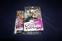 MCFARLANE THE ART OF SPAWN TIFFANY 3 ISSUSE 45 ART SERIES 26 2004 ACTION FIGURE