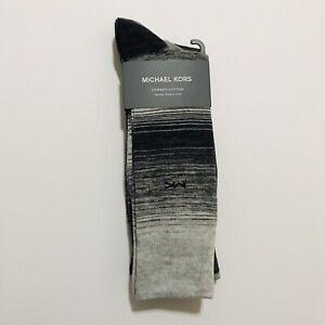 Michael Kors 3-Pair Combed Cotton Dress Socks Men's size US 7-12
