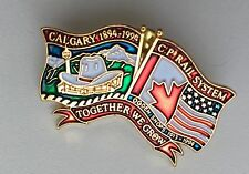 Calgary 1894 1994 Cp Rail System Ogden Shops 1913 1994 Together We Grow Pin