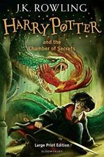 Harry Potter And The Chamber Of Secrets (Book 2) Large Print edition by J. K. Ro