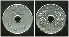 JAPON  50 yen  47  1972