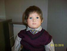 "Sigikid 24 inch Doll ""Leroy"" Created by Sabine Esche in box # 443 of 1500"