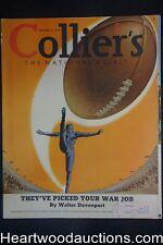 Collier's Nov 4, 1939 D.D. Beauchamp, Kathleen Norris, Ann Miller