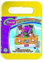 Barney - Adventure Bus (Carry Case) [DVD], Acceptable DVD,