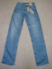 M&S WOMENS/GIRLS STRAIGHT LIGHT BLUE JEANS SIZE 6 R NWT COST £19 50.