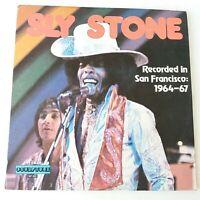 Sly Stone - Recorded in San Francisco 1964-67 - Vinyl LP US 1st Press EX/EX+