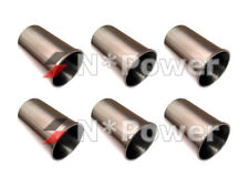 FULL FINISHED PISTON CYLINDER SLEEVE LINER SET 6 FOR NISSAN Patrol MQ SD33T SD33